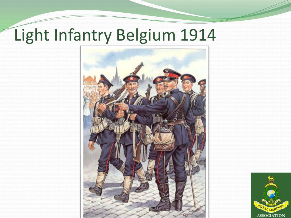 Light Infantry Belgium 1914