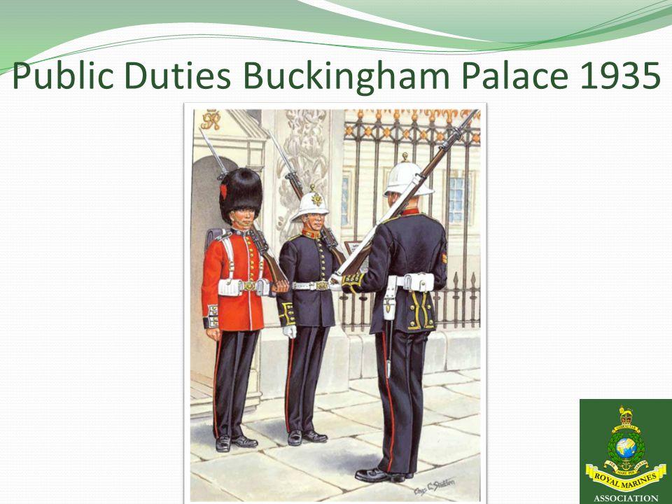 Public Duties Buckingham Palace 1935