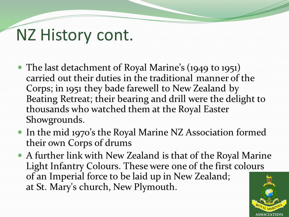 NZ History cont.