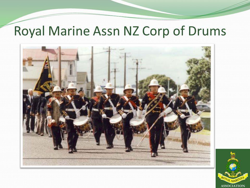 Royal Marine Assn NZ Corp of Drums