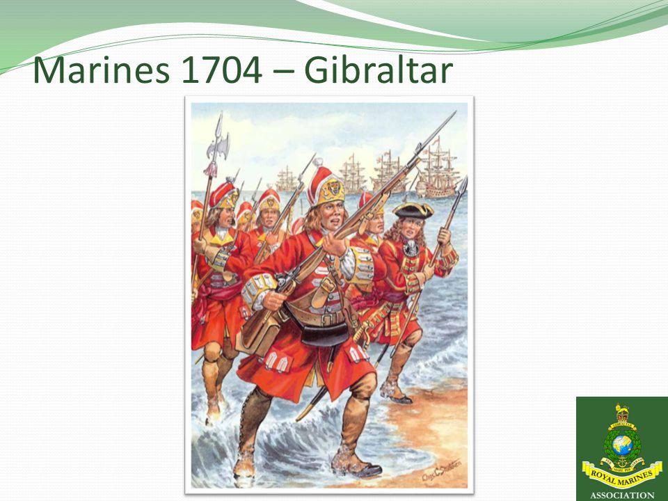 Marines 1704 – Gibraltar