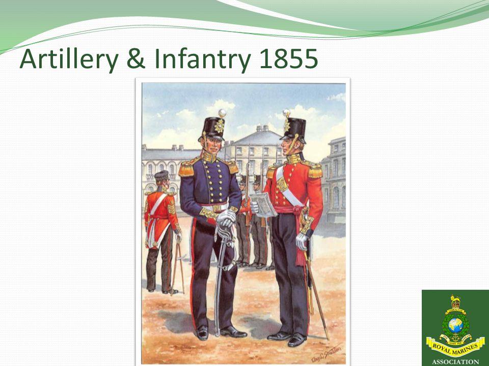 Artillery & Infantry 1855