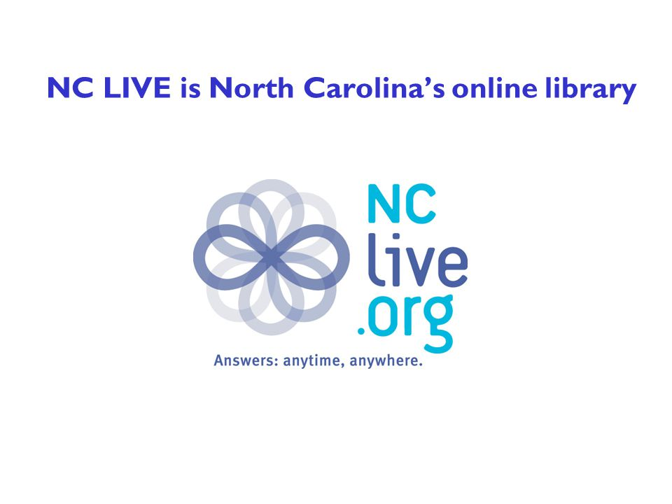 What is NC LIVE.
