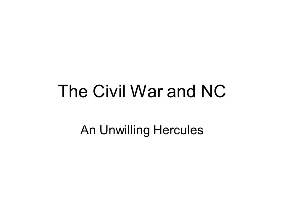 Questions A.What could NC supply to CSA troops. B.
