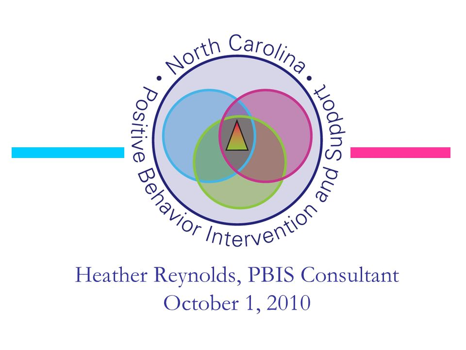 Heather Reynolds, PBIS Consultant October 1, 2010