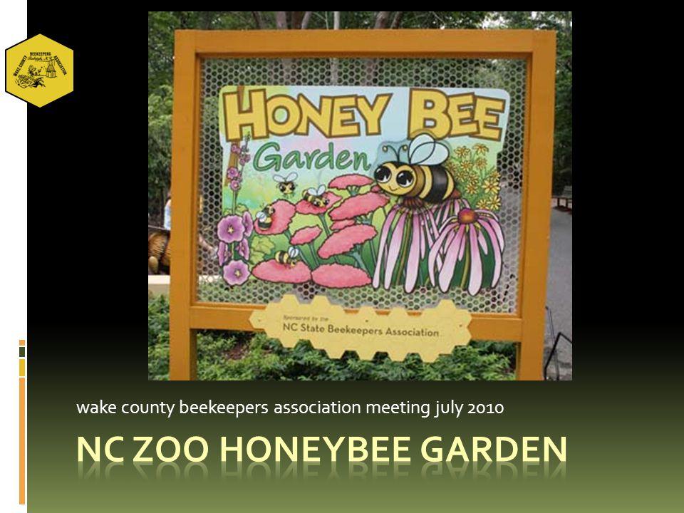 wake county beekeepers association meeting july 2010