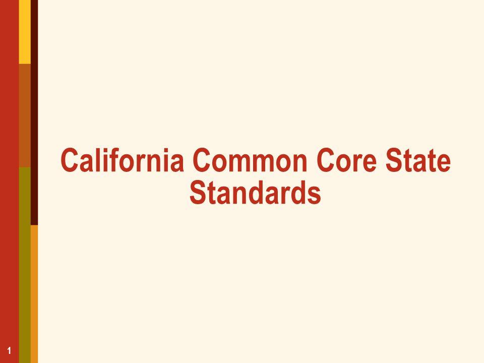 California Common Core State Standards 1