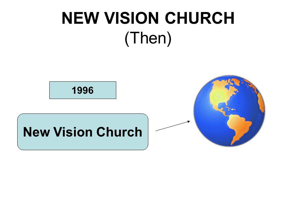 NEW VISION CHURCH (Then) 1996 New Vision Church