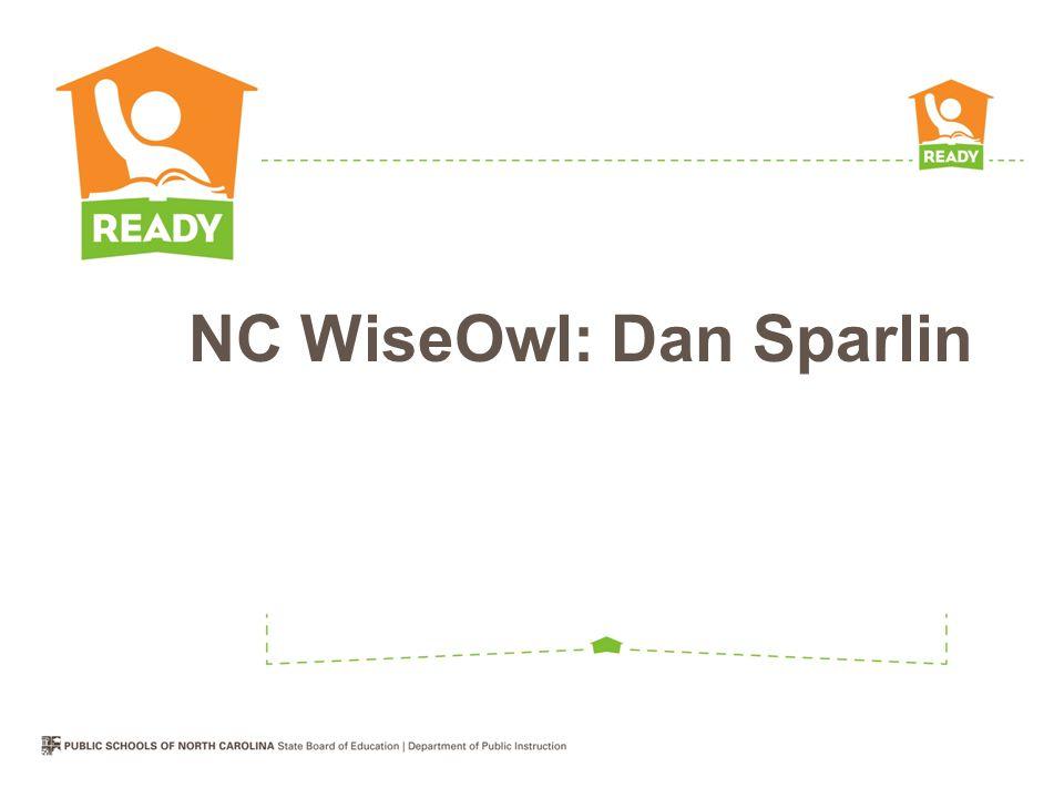 NC WiseOwl: Dan Sparlin