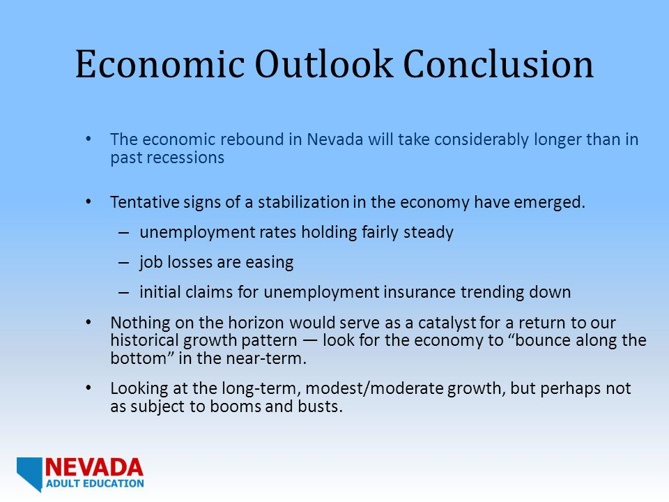 conclusion on recession