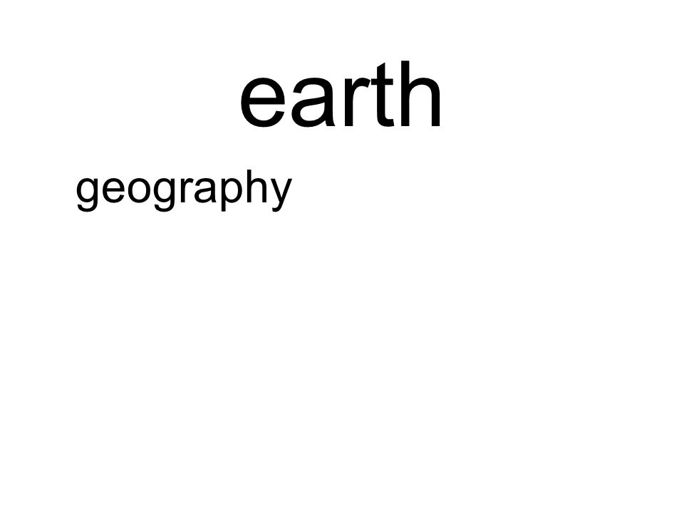 earth geography