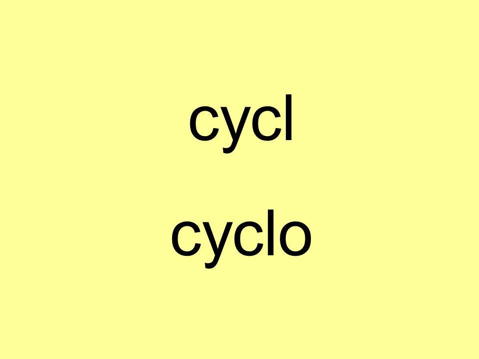 cycl cyclo
