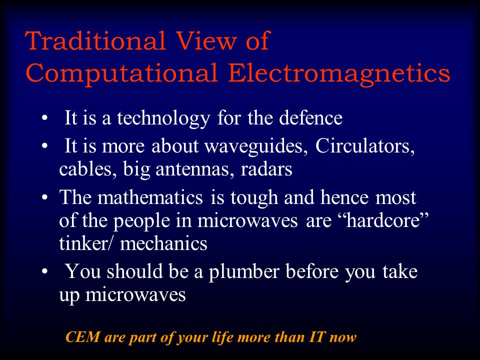 Computational Challenges In Electromagnetics Prof.