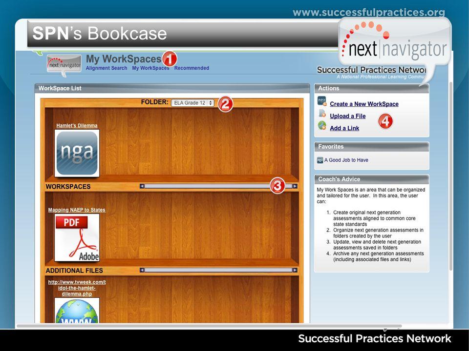 SPN's Bookcase