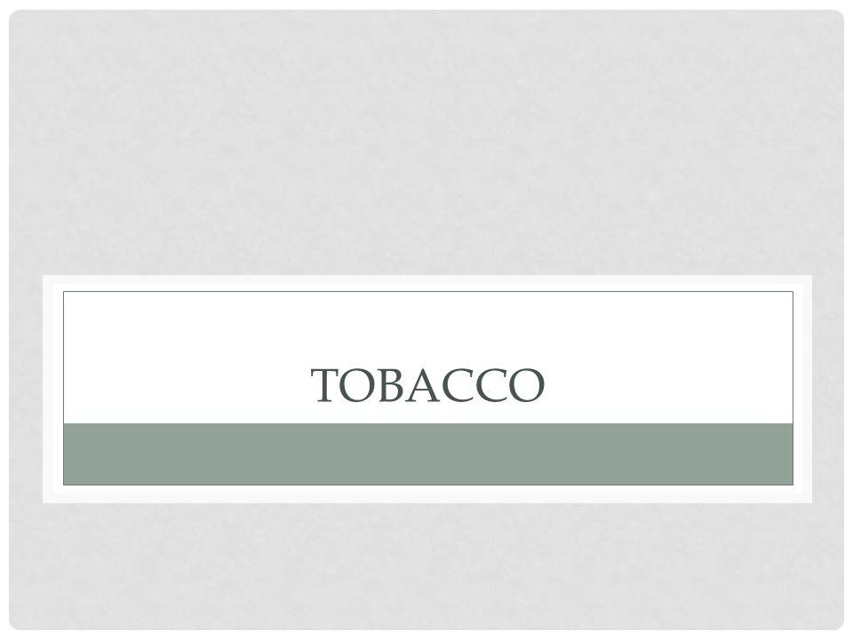 PAST 30-DAY CIGARETTE AND TOBACCO USE