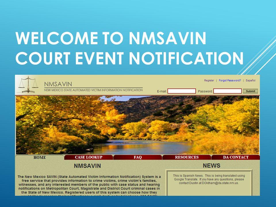 NMSAVIN.COM HOME PAGE