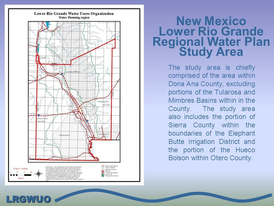LRGWUO Institutional Setting: Rio Grande Compact Rio Grande Project LRG