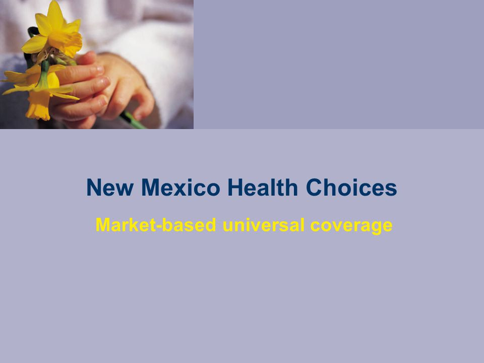 An unhealthy cycle Employers and individuals have seen premiums increase 10-20% a year since 2000 Around 400,000 New Mexicans have no health insurance Doctors and hospitals are forced to overcharge some patients to make up for those who cannot pay