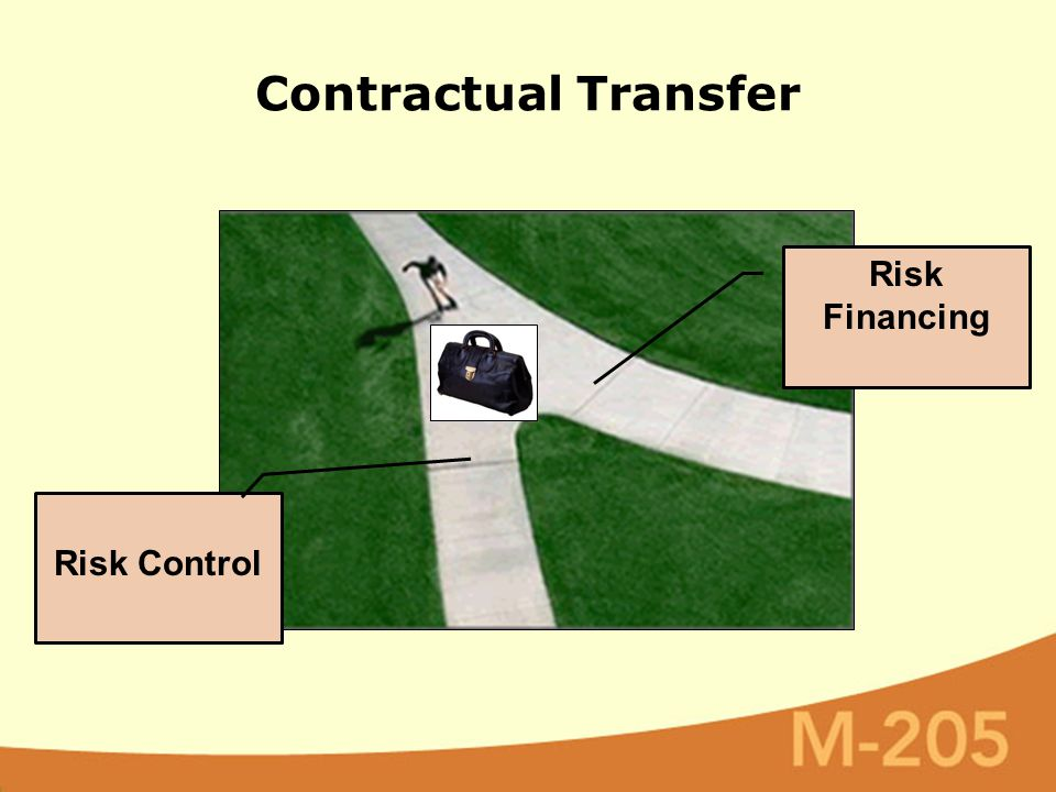 Contractual Transfer Risk Financing Risk Control