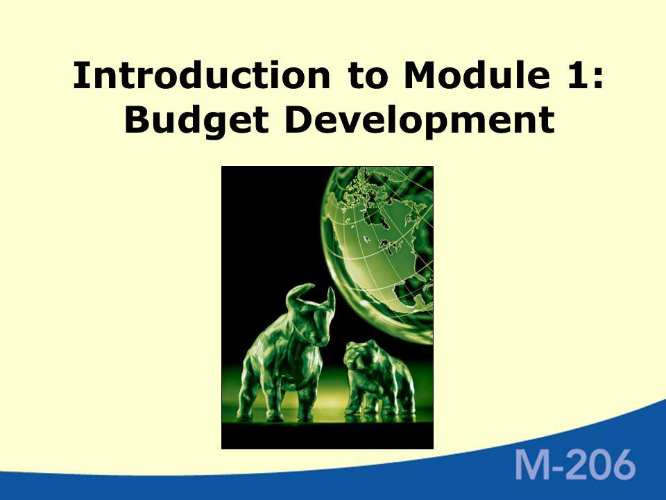 Budget Development Focus  Developing a community association budget