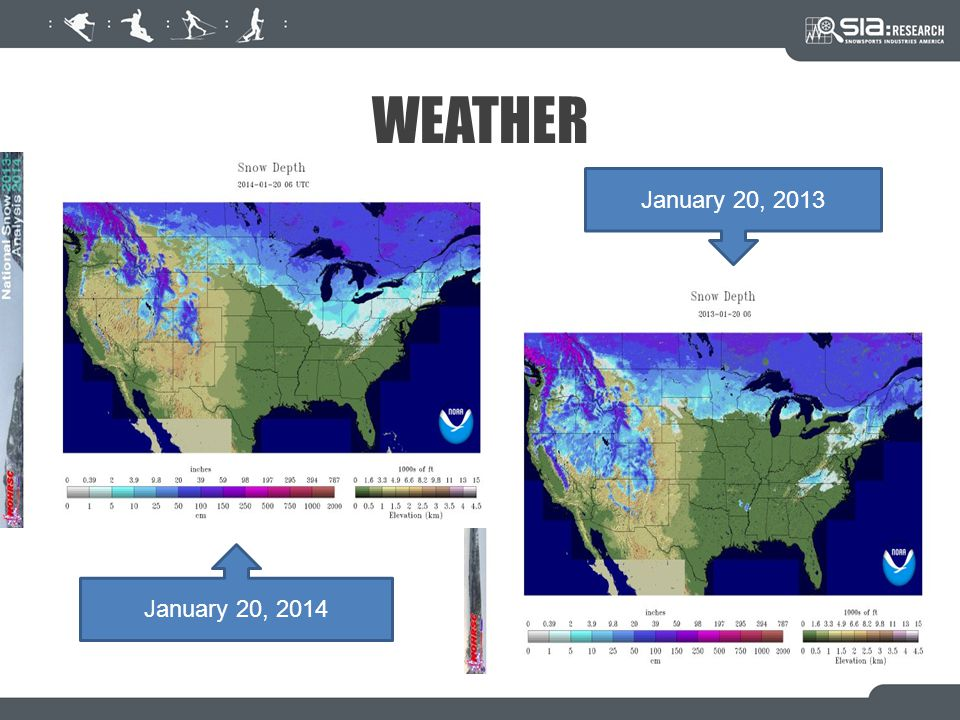 WEATHER January 20, 2014 January 20, 2013