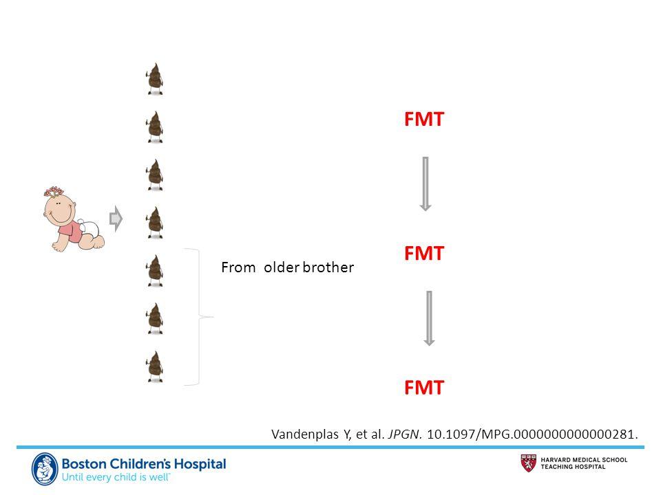 From older brother FMT Vandenplas Y, et al. JPGN. 10.1097/MPG.0000000000000281.