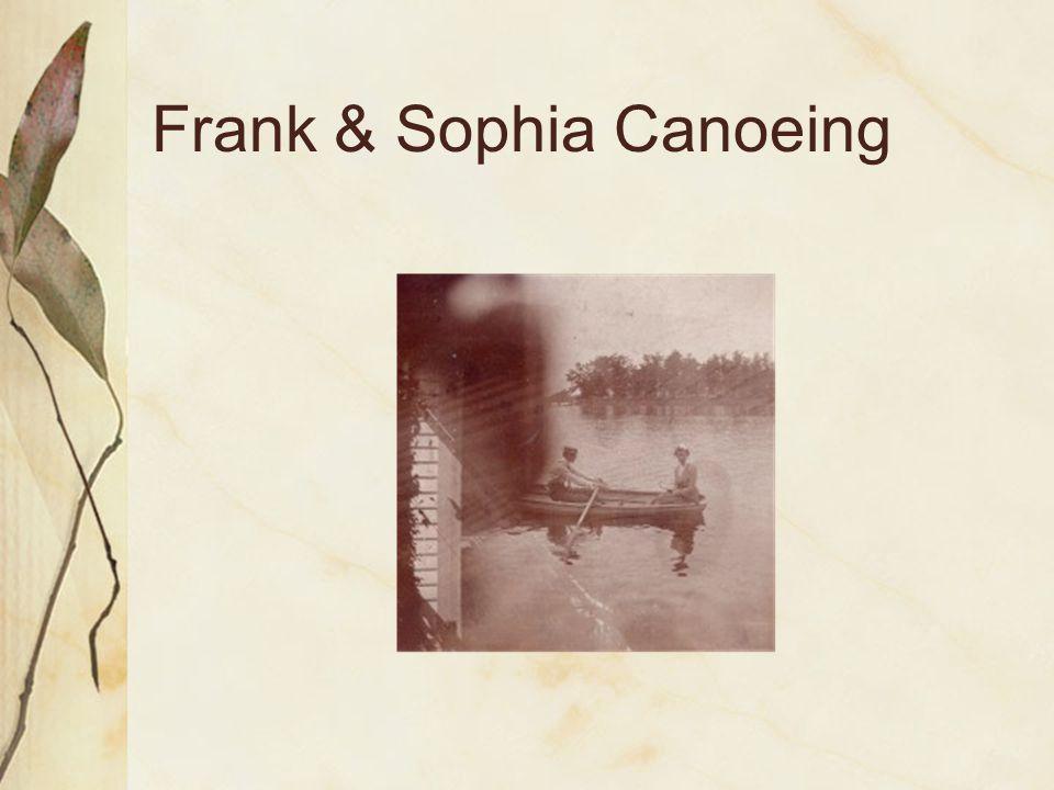 Frank & Sophia Canoeing
