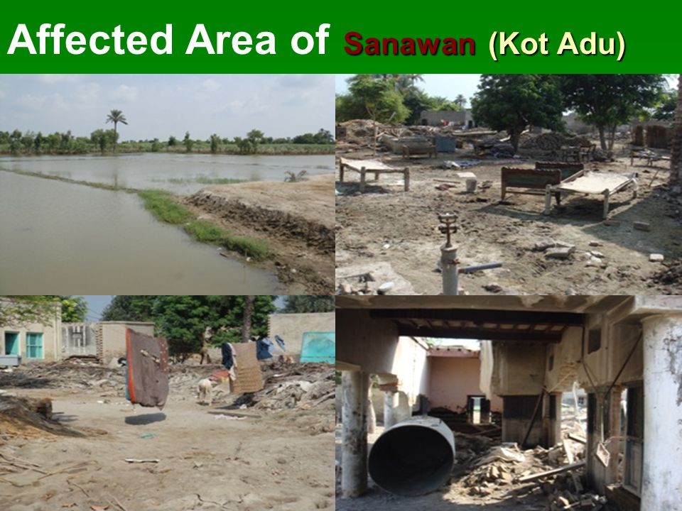 Sanawan (Kot Adu) Affected Area of Sanawan (Kot Adu)
