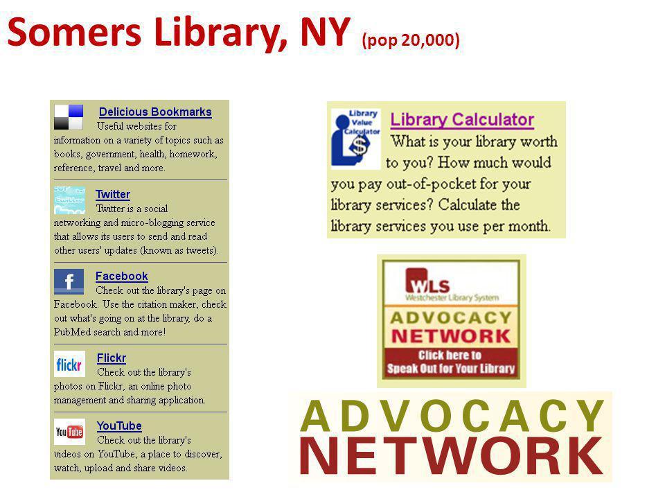 Somers Library, NY (pop 20,000)