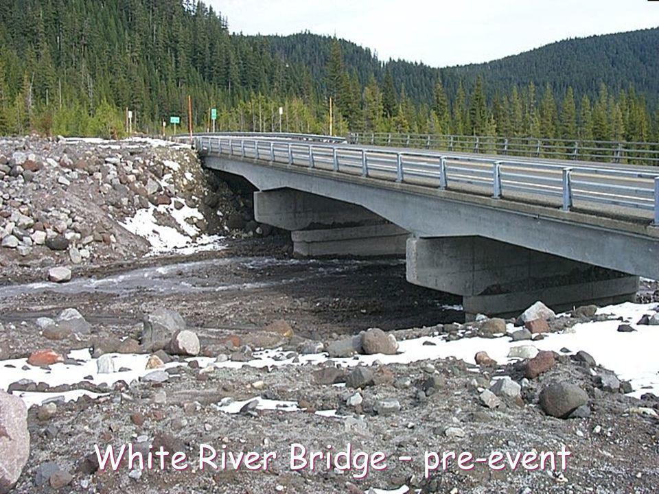 White River Bridge – pre-event