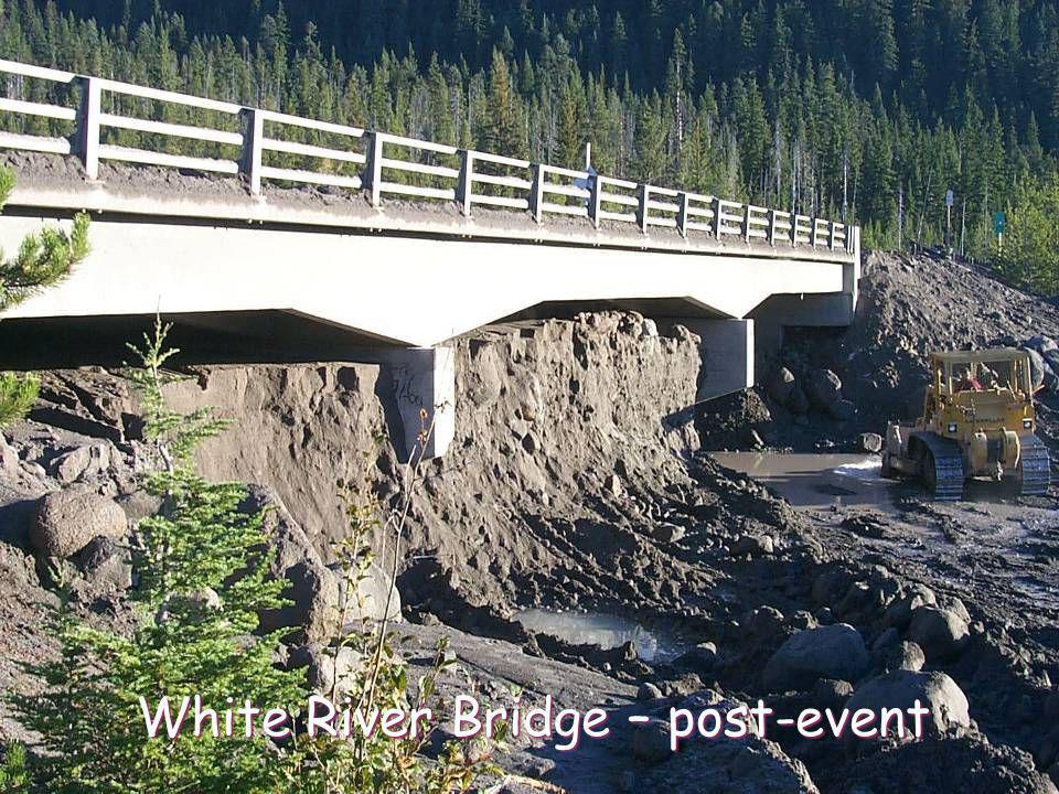 White River Bridge – post-event