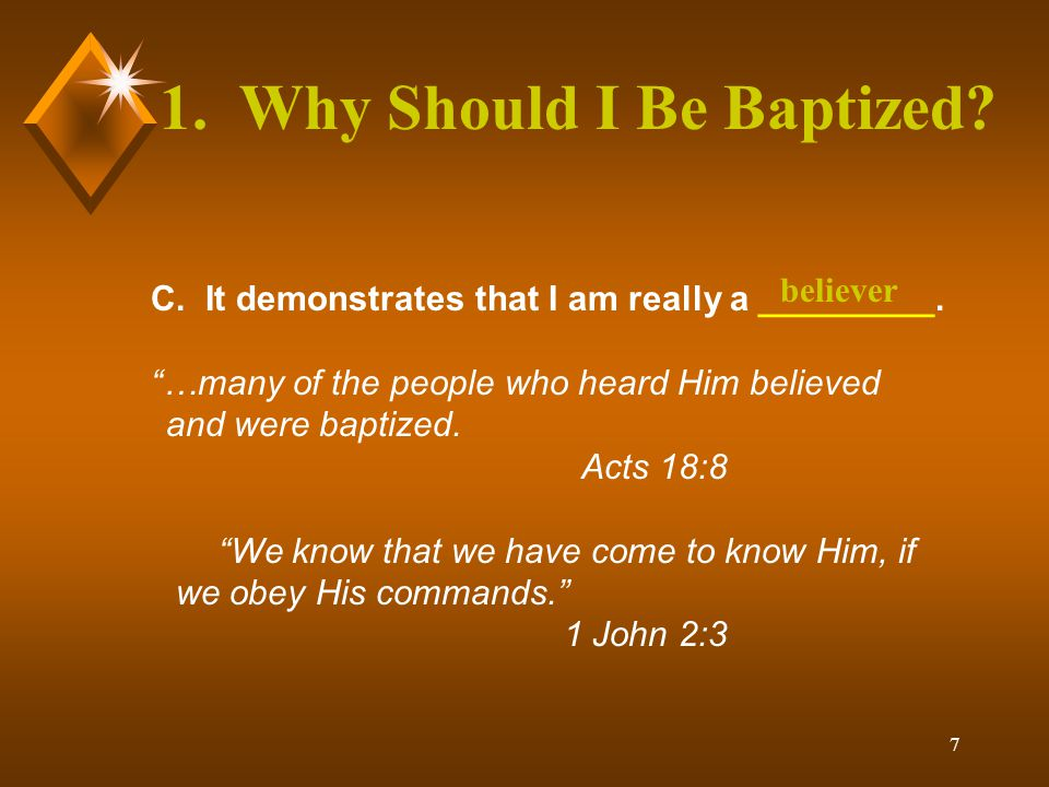 18 The Lord's Supper The Lord's Supper is like baptism in that both are symbols or reminders.