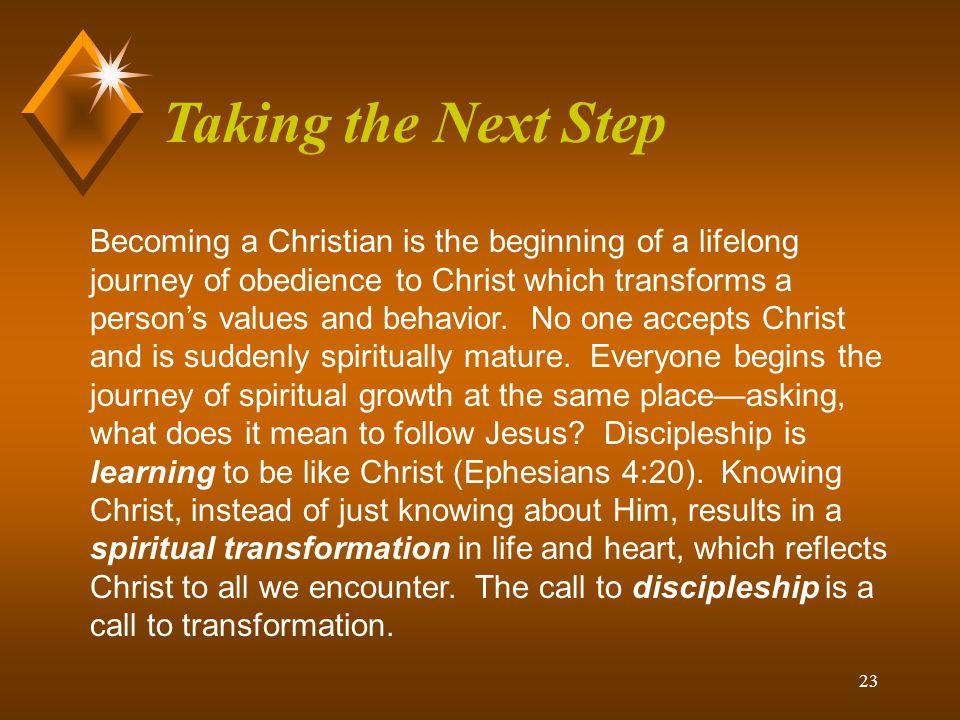 22 Discipleship