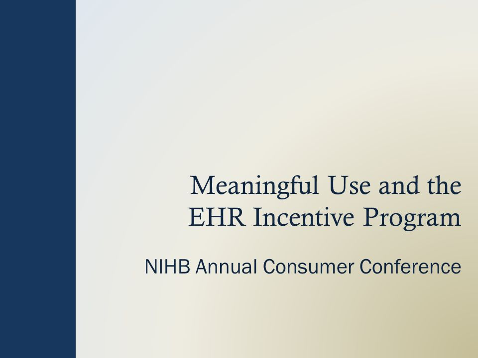 EHR Incentive Program The Medicare and Medicaid EHR Incentive Programs will provide incentive payments to eligible professionals (EPs), eligible hospitals (EHs) and critical access hospitals (CAHs) as they adopt, implement, upgrade or demonstrate meaningful use of certified EHR technology.