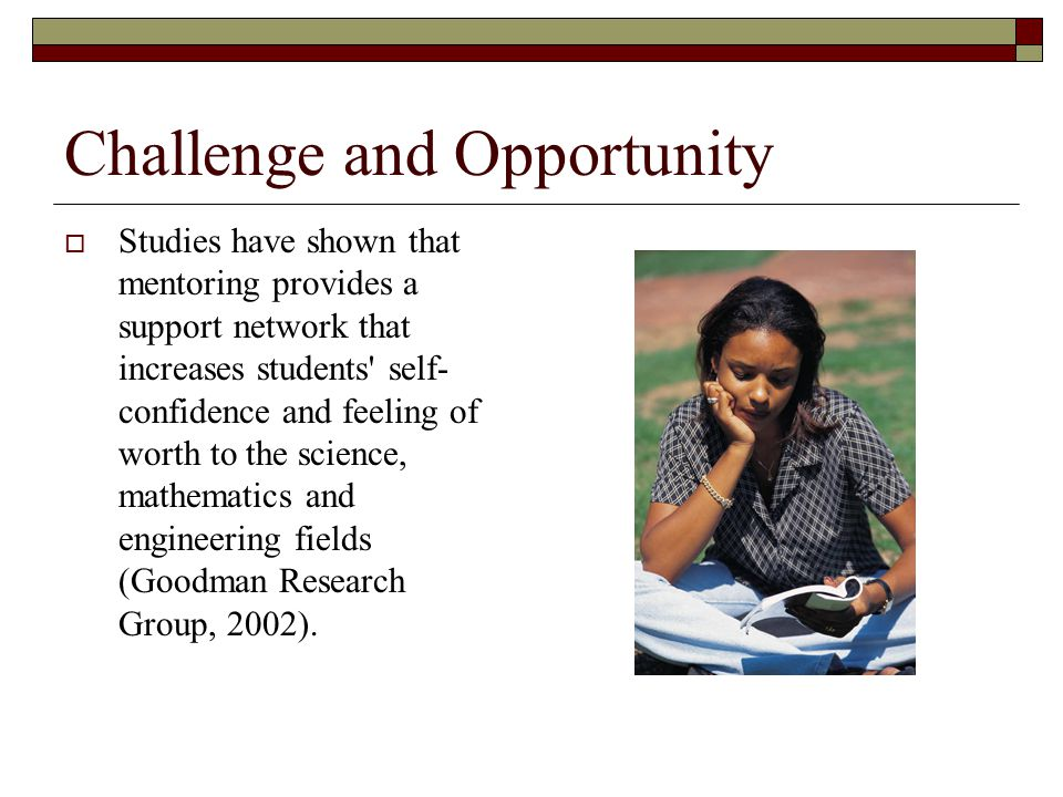 Challenge and Opportunity  While AABE-MI Chapter successfully supports minority youth with college scholarships, student scholars continually ask for simple guidance in areas such as work load prioritization, career planning, internships and advice on college transitional challenges.
