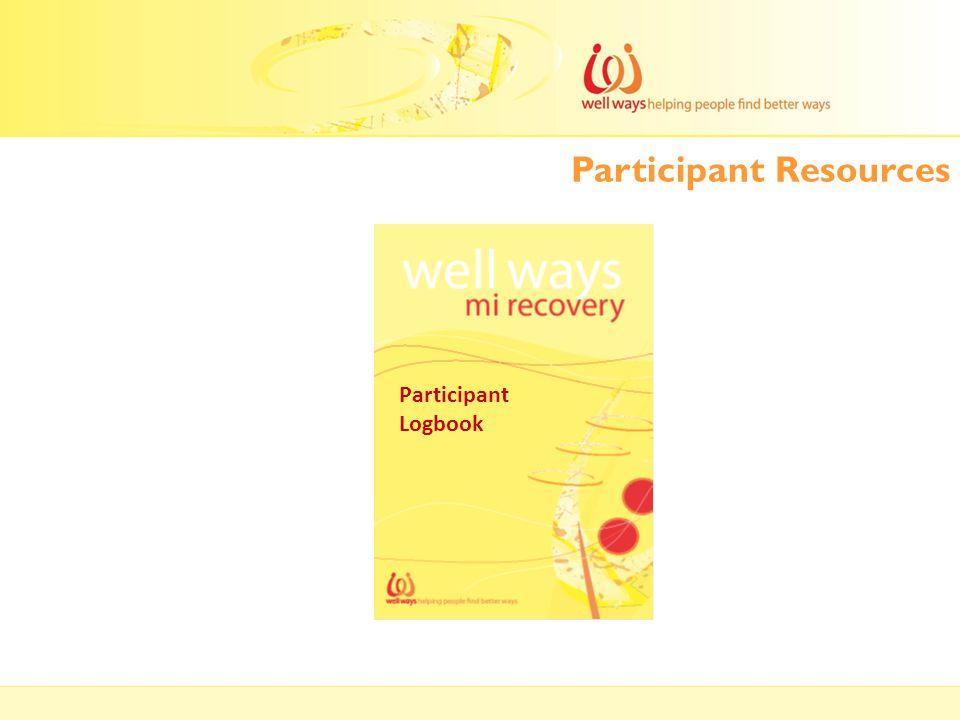 Participant Resources Participant Logbook