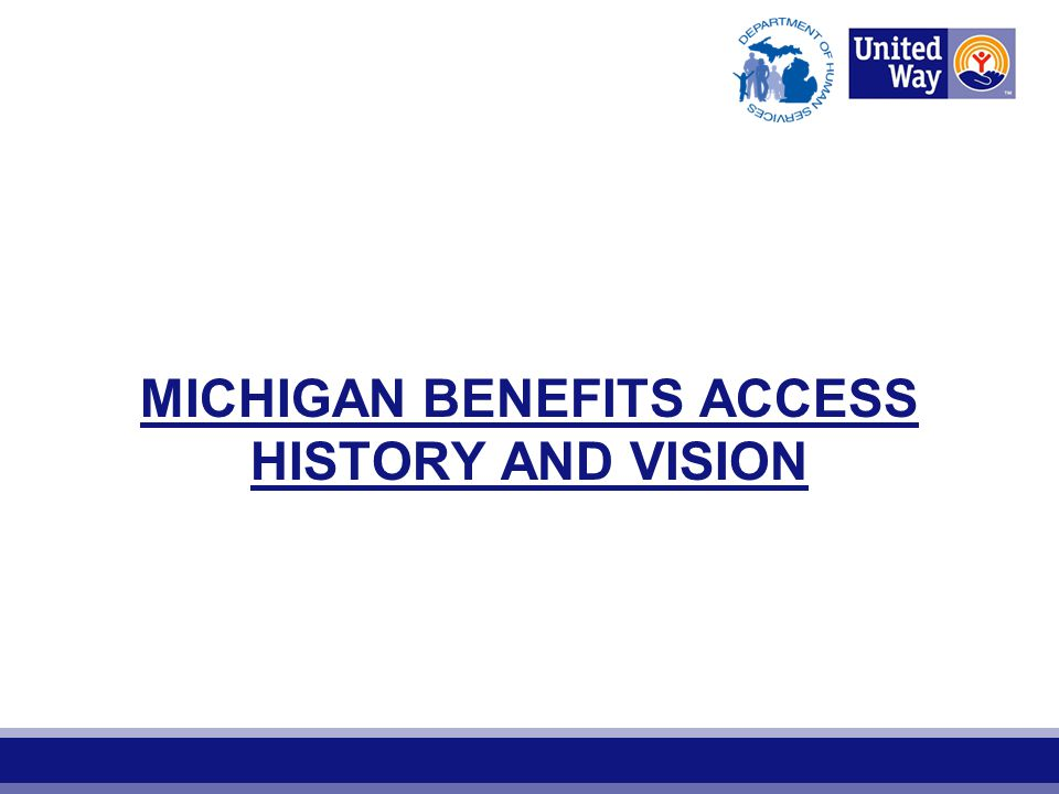 Michigan hit tremendously hard by 2008 recession Unprecedented numbers of households qualify for public work supports State of Michigan and nonprofits struggle to meet the needs of low-income families Public work supports go unclaimed in Michigan annually Need and Opportunity