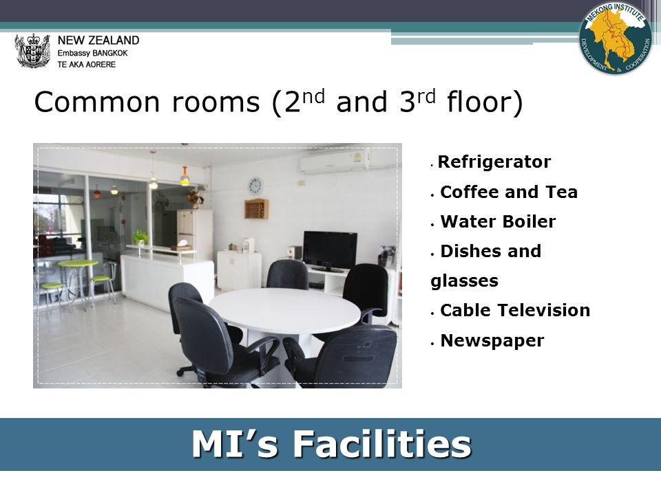 MI Learning Resource Center (7 am – 10 pm) MI's Facilities