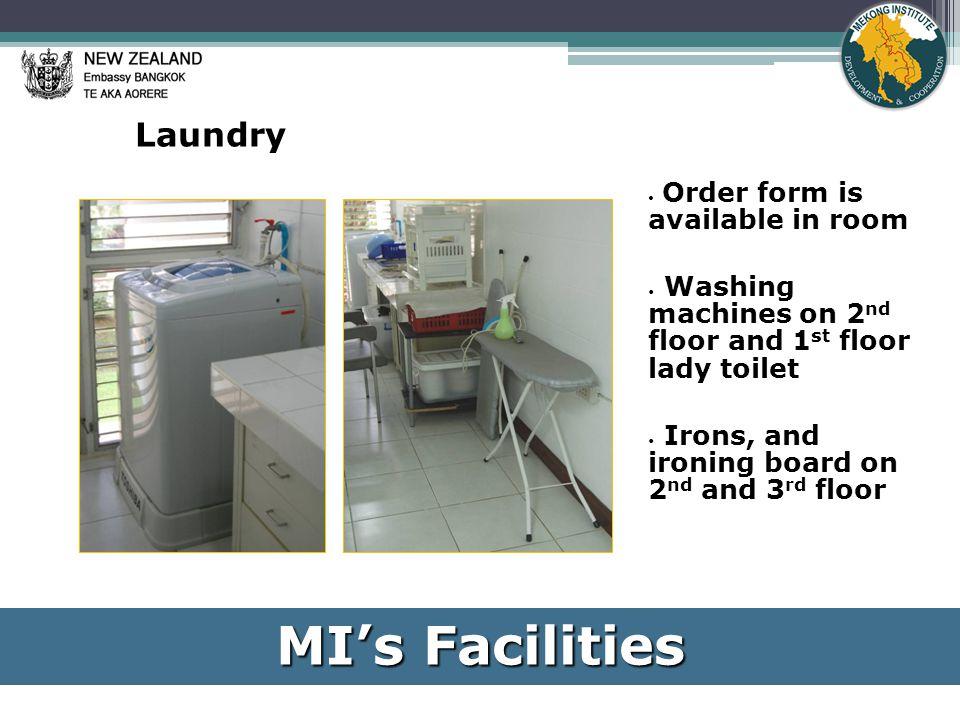 Microwave Non-smoking MI's Facilities