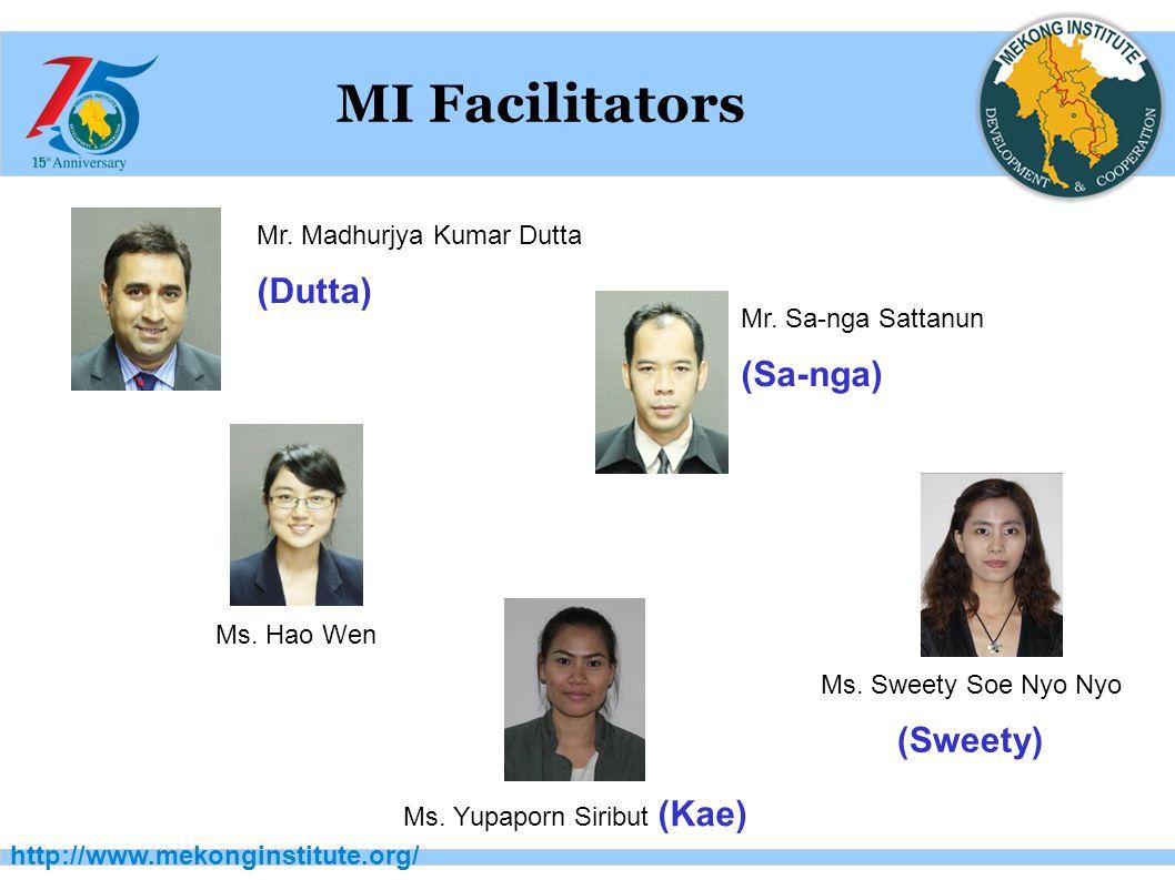http://www.mekonginstitute.org/ MI Facilitators Mr.