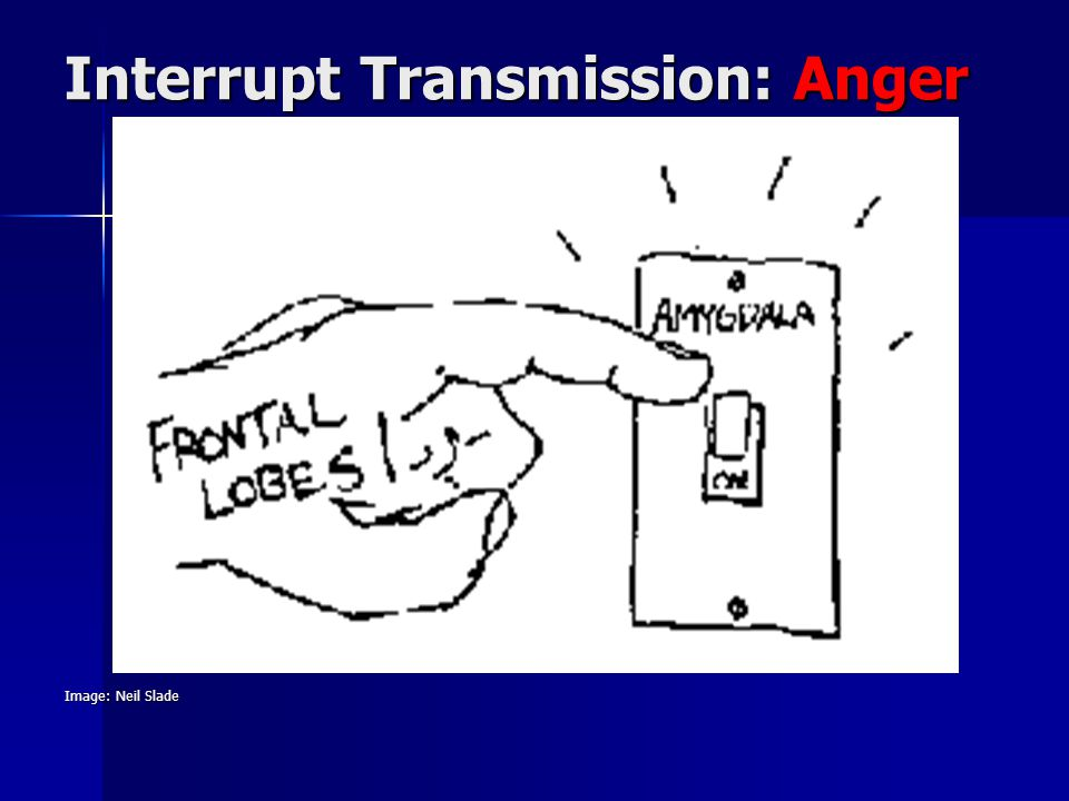 Image: Neil Slade Interrupt Transmission: Anger