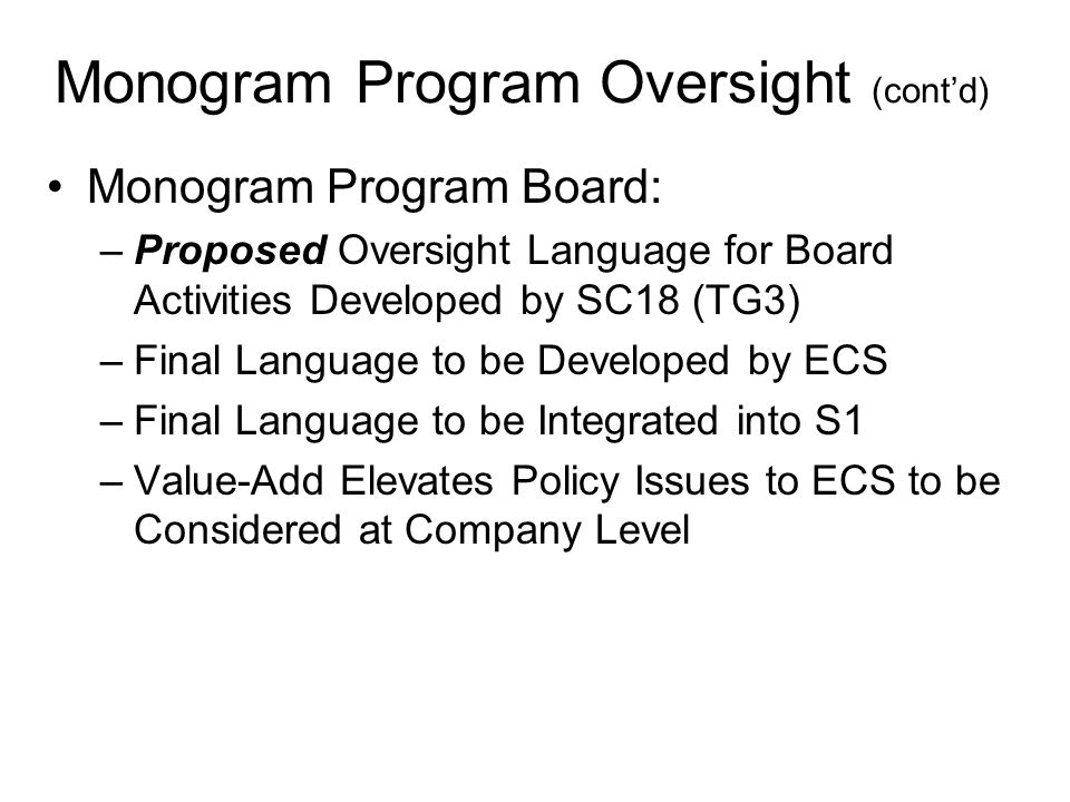 Path Forward Options for Proposing Board Roles and Responsibilities –ECS Charges API Staff –ECS Charges Ad Hoc Work Group (C.