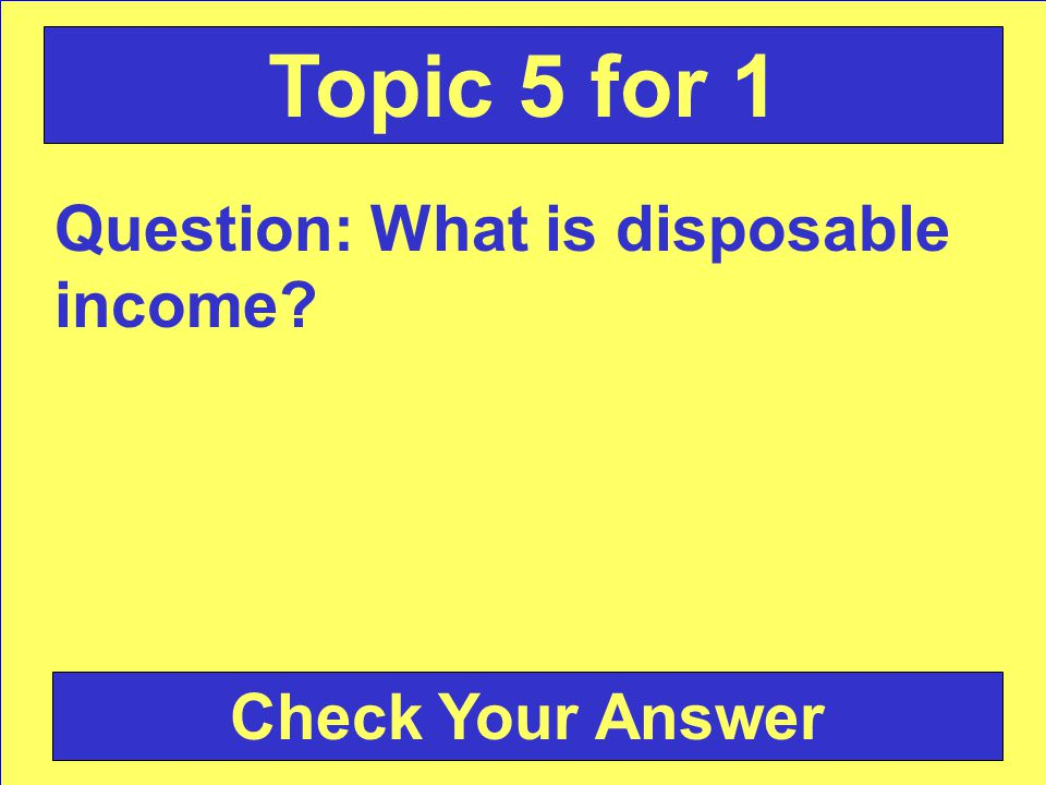 Answer: promotion Back to the Game Board Topic 4 for 5