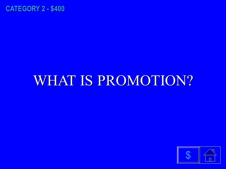 CATEGORY 2 - $300 WHAT IS MARKETING INFORMATION SYSTEM $