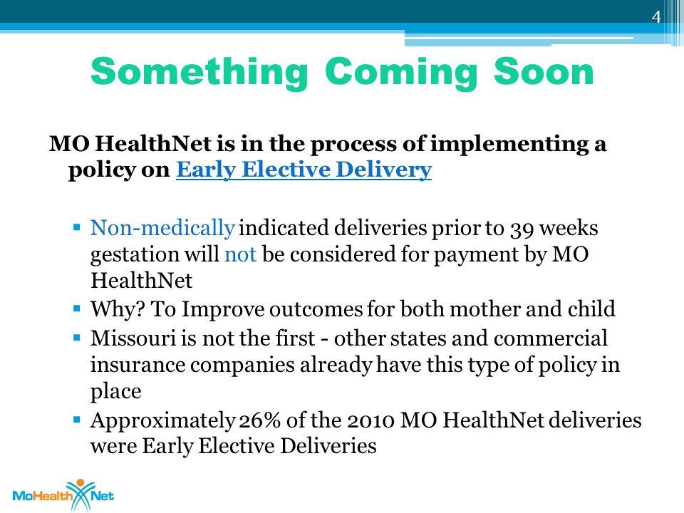 MO HealthNet Benefit Matrix 25