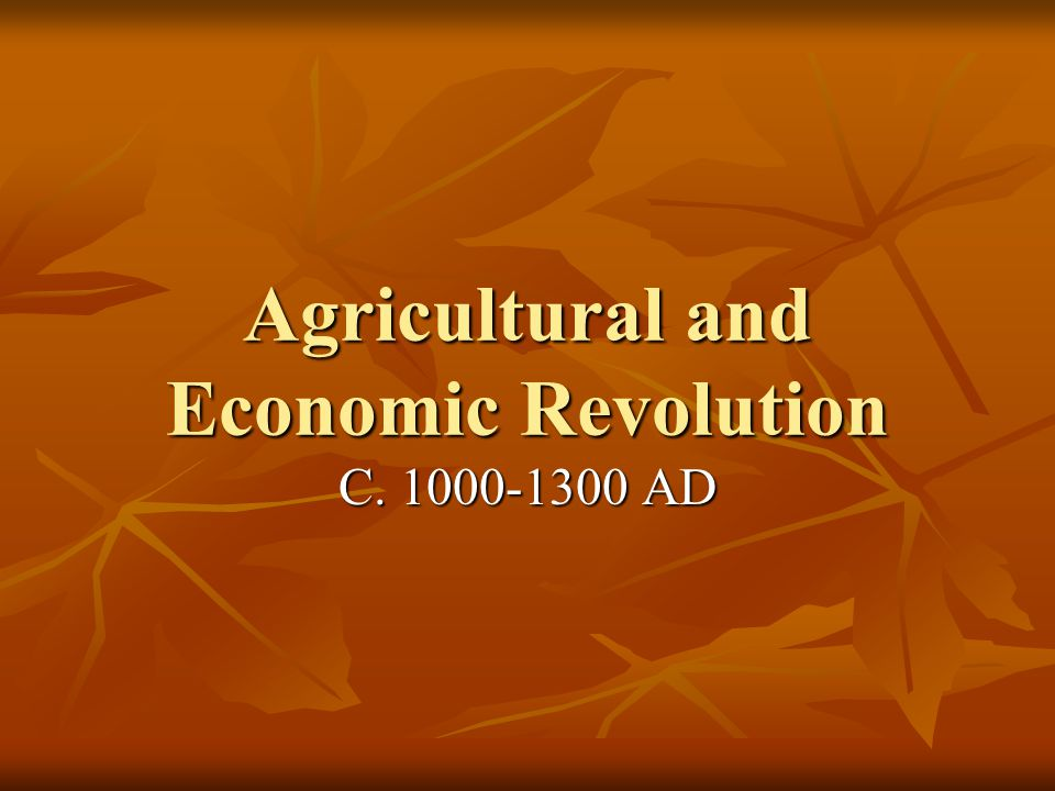 Changes in Agriculture Population explosion (38-74 mil.