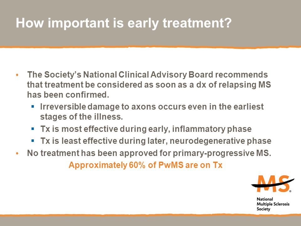 How important is early treatment.