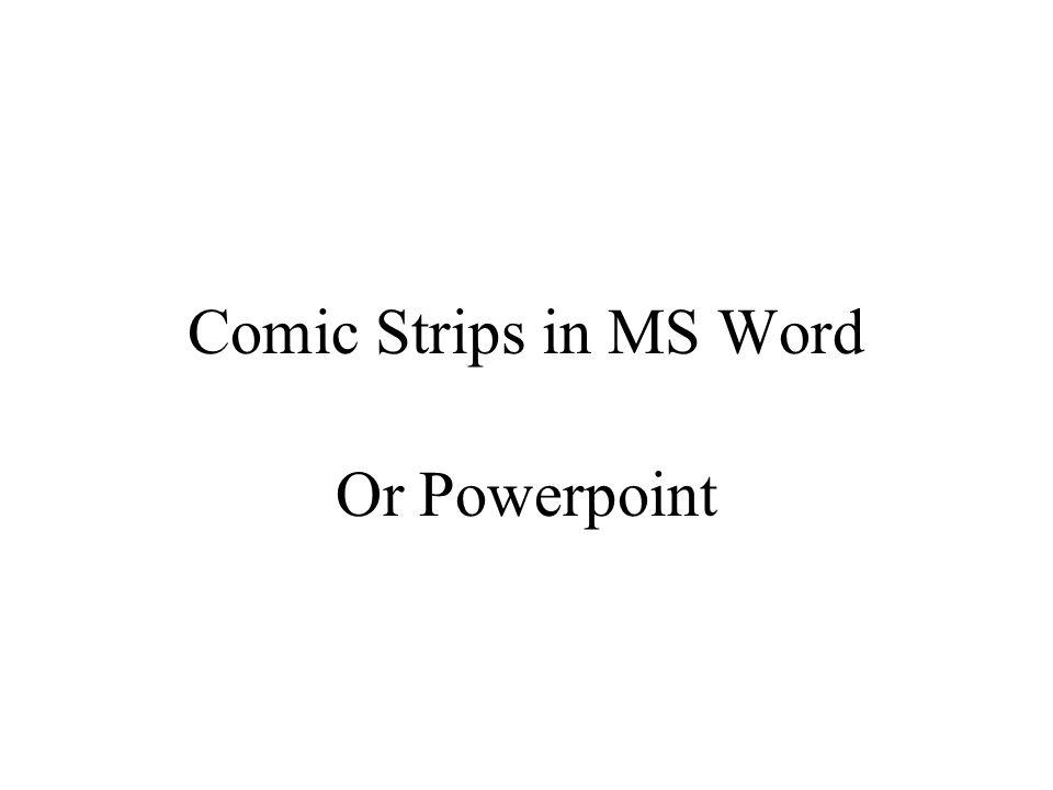 Open MS Word
