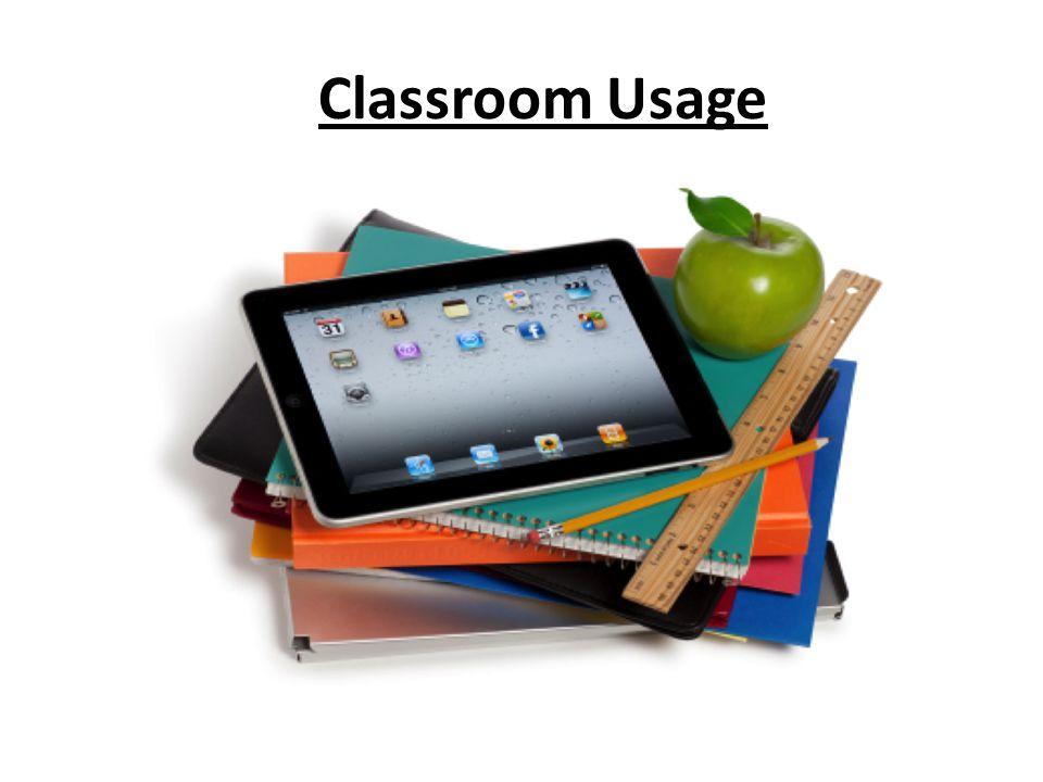 Classroom Usage