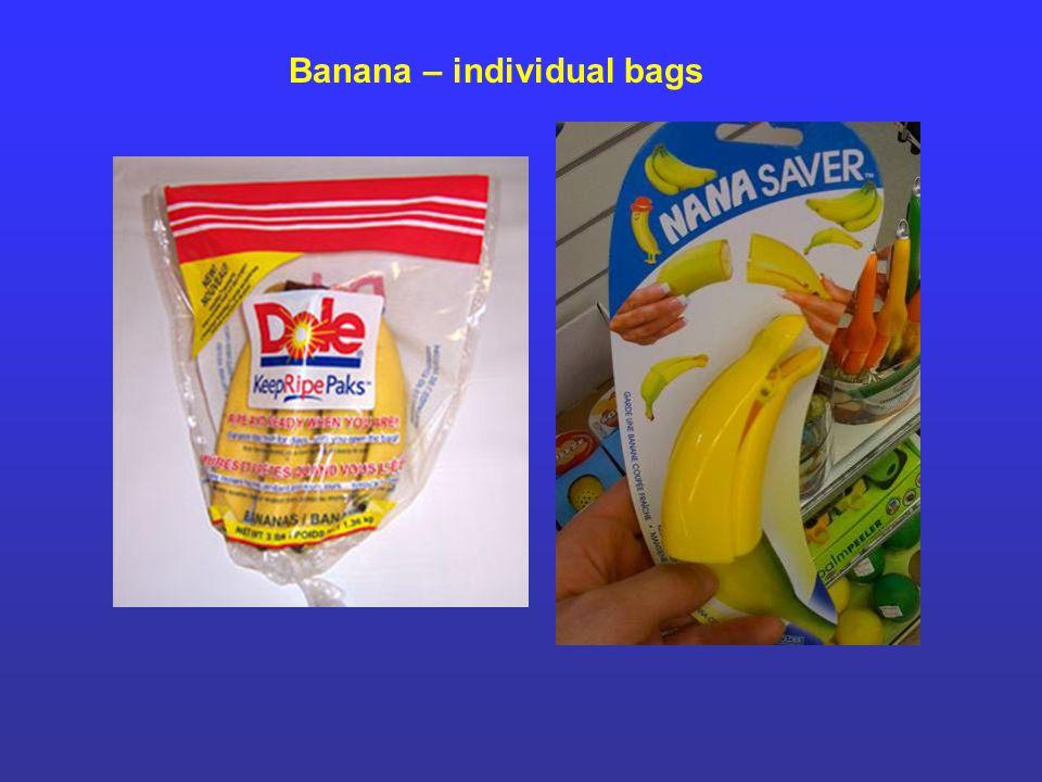 Banana – individual bags